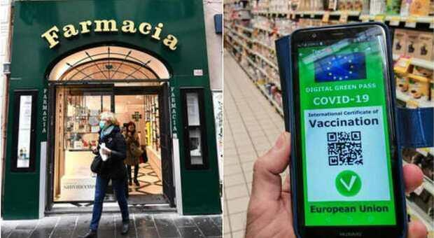 Green pass, la denuncia delle farmacie nel Lazio: «Più di 120 richieste al giorno. Non siamo una stamperia»
