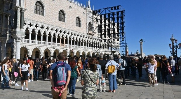 I grandi eventi hanno richiamato tanti americani a Venezia