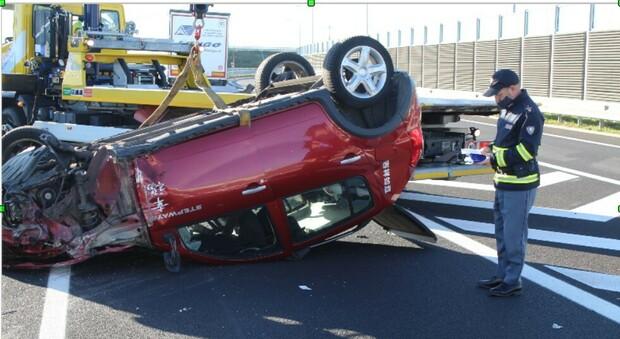 L'incidente sull'autostrada Venezia-Trieste