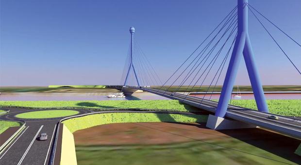 Il progetto del ponte fra Porto Viro e Taglio di Po