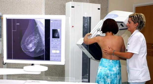 Una mammografia
