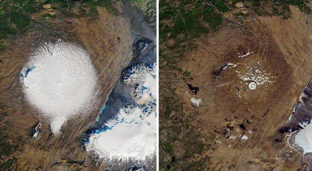 Islanda, una targa per commemorare la scomparsa del ghiacciaio Okjokull