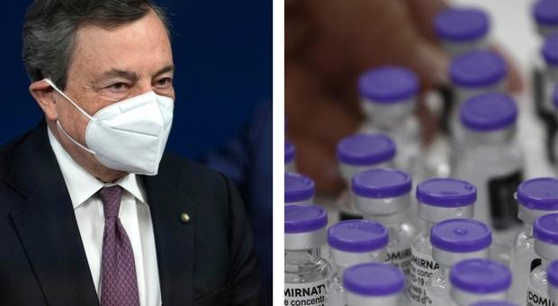 Mix vaccini anti-Covid, Draghi: «Ema dia indicazioni». Cosa sappiamo e come funziona con AstraZeneca e Pfizer