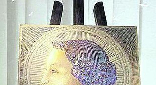 Maiolica studiata per tre anni: «È la prima pittura di leonardo»