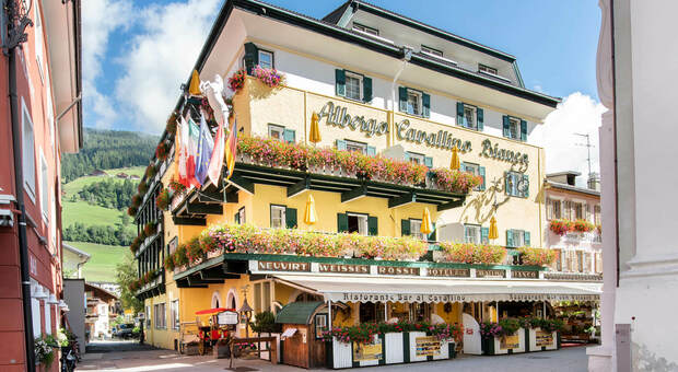 L'hotel Cavallino Bianco a San Candido