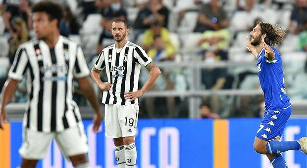 Juventus-Empoli 0-1: un gol di Mancuso gela l'Allianz Stadium alla prima senza Ronaldo
