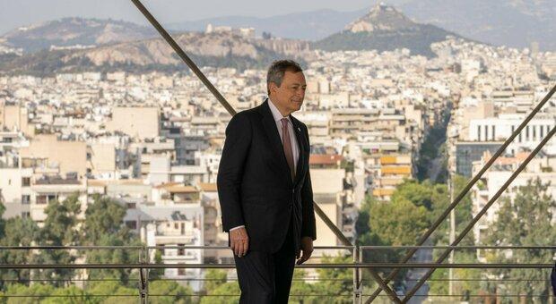 Draghi ad Atene: «Sulla difesa europea non c è molto tempo da aspettare»