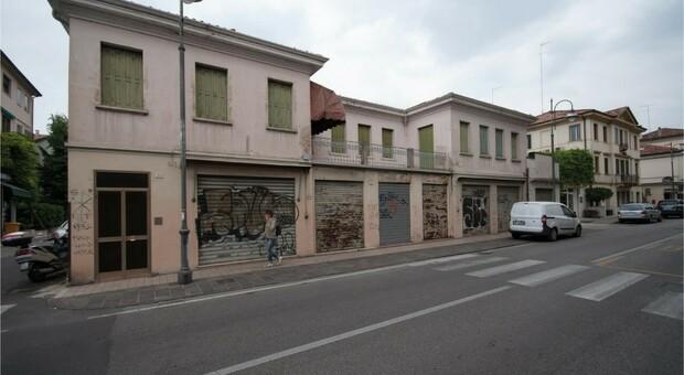 Treviso, recupero dell'immobile abbandonato in viale Luzzati: ecco cosa diventerà