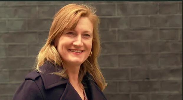 Allegra Stratton, portavoce del primo ministro inglese Boris Johnson