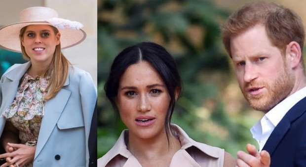 Meghan e Harry, sgambetto da Buckingham palace: l'annuncio della gravidanza di Beatrice nel giorno del loro anniversario