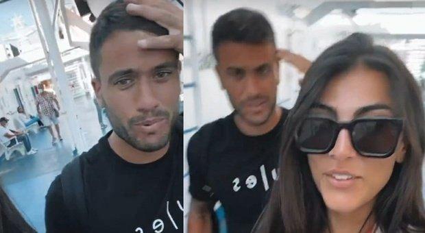 """Giulia Salemi e Pierpaolo sul traghetto delle vacanze, poi la """"brutta notizia"""" a bordo: «Non ci credo...»"""