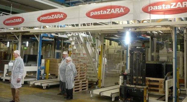 Lo stabilimento di Pasta Zara