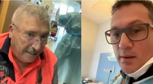 No vax italiano preleva un 75enne malato di Covid dall'ospedale: «Ti stanno uccidendo». L'uomo torna a casa e muore