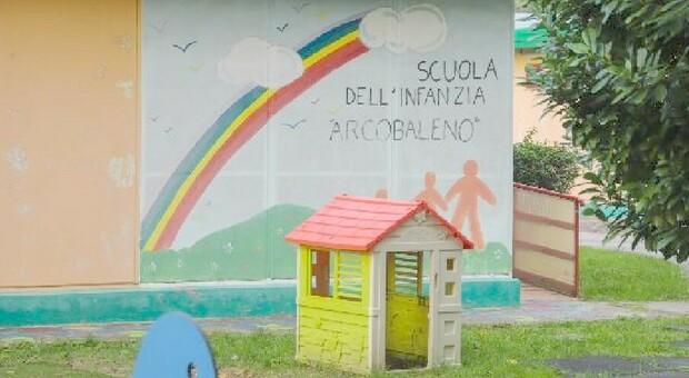 CAMPALTO Il giardino della scuola materna Arcobaleno