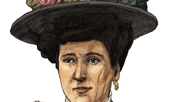 Maria Tarnowska nel ritratto di Matteo Bergamelli