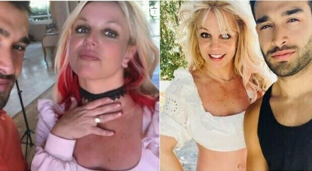 Britney Spears si sposa e mostra l'anello, chi è il futuro marito