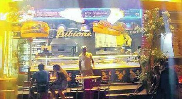 Il kebab a Bibione dove è avvenuta l'aggressione