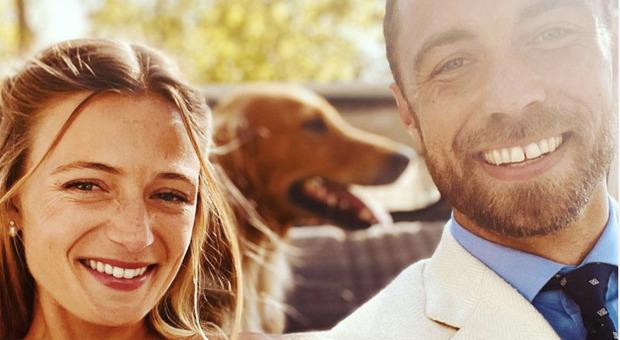 Il fratello di Kate Middleton si è sposato con la fidanzata Alize Thevenet davanti a parenti, amici e animali