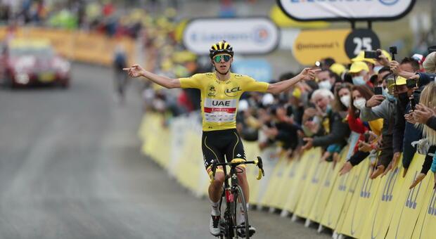 Pogacar è il padrone del Tour de France: vince anche a Luz Ardiden e chiude i giochi