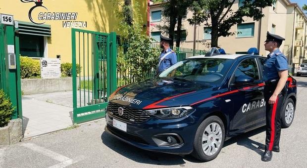Carabinieri a Marghera