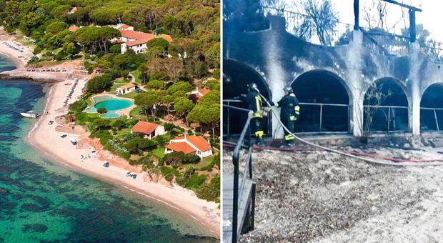 Incendio nell'hotel di Temptation Island: 60 evacuati nella notte, matrice dolosa