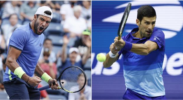 Berrettini-Djokovic, diretta Us Open: i precedenti (l'ultimo in finale a Wimbledon) e dove vederla in tv e streaming