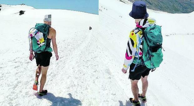 In vetta con i bermuda e i sandali: tutti gli errori da evitaree quando si va in montagna