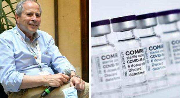 Vaccino Pfizer, Crisanti: «Ok definitivo apre le porte all'obbligo»