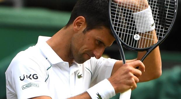 Djokovic scherza: «Spero che l'Italia vinca solo a Wembley»