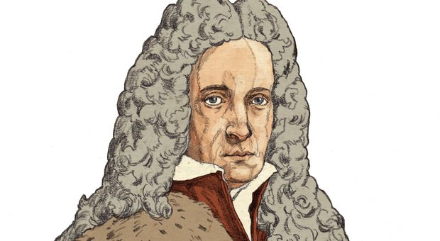 Giovanni Domenico Santorini ritratto da Matteo Bergamelli