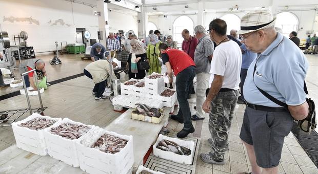 Il mercato ittico