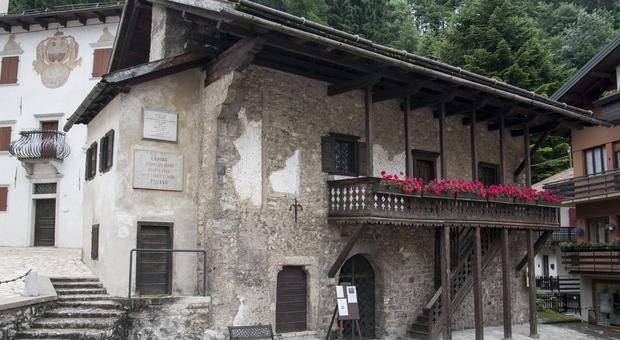 La casa natale di Tiziano Vecellio: la Magnifica comunità del Cadore ora promuove il sito in collaborazione con Possagno e Castelfranco