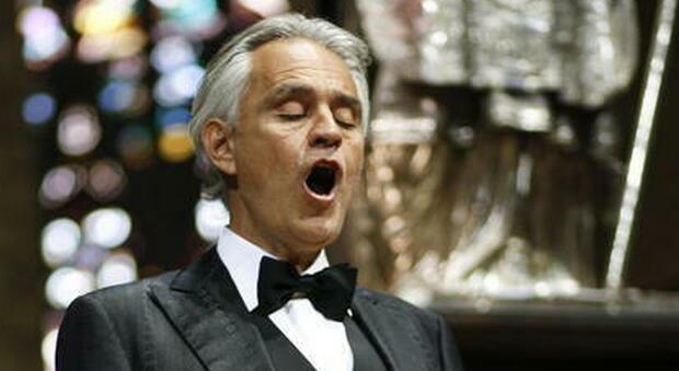Andrea Bocelli ha incantato Rialto