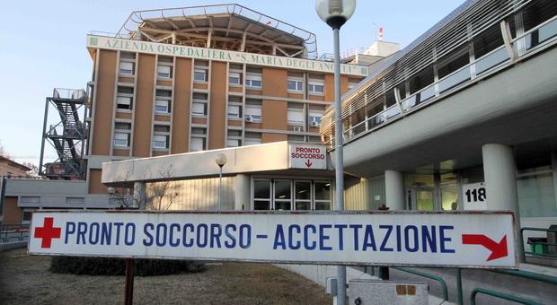 L'ospedale di Pordenone