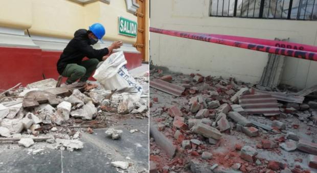 Terremoto in Perù, 40 feriti per la di magnitudo 6,1 Richter: numerosi edifici danneggiati