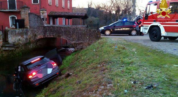 Incidente a Camposampiero: cinque persone ferite