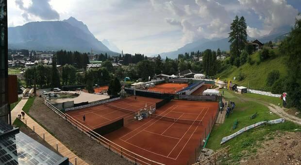 I campi da tennis di Sopiazes