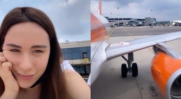 Aurora Ramazzotti, la vacanza ad Ibiza comincia con l'odissea in aeroporto in diretta su Instagram
