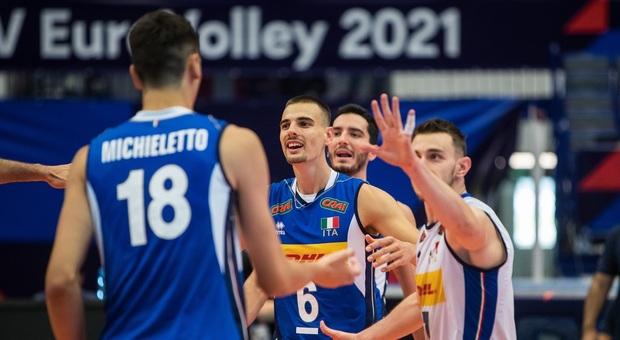 L'Italia vince 3-0 contro la Slovenia ed è già agli ottavi di finale