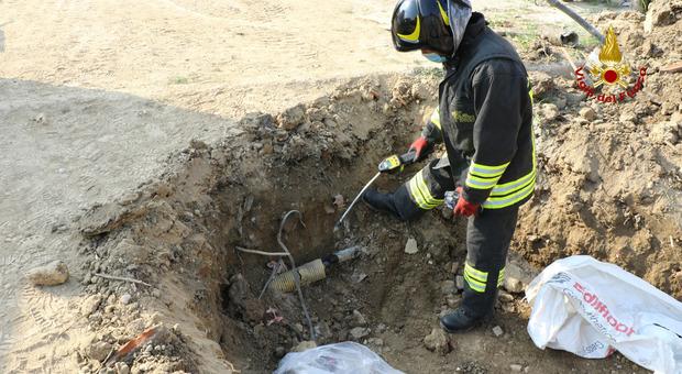 Tubo del gas rotto: intervento dei pompieri a Grisignano