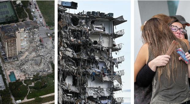 Miami, 4 morti e 159 dispersi nel palazzo crollato: si scava fra le macerie. Dichiarato lo stato di emergenza