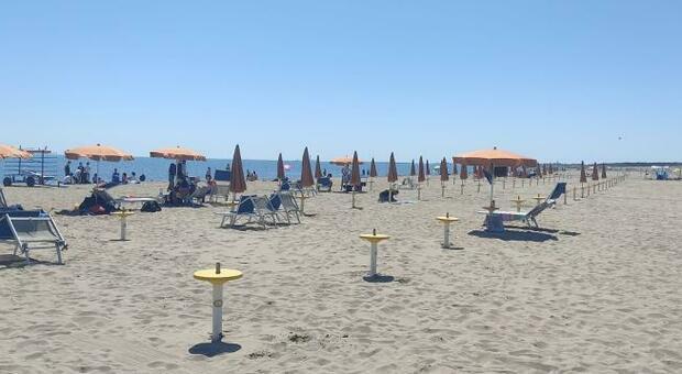 Domenica in spiaggia a Rosolina mare