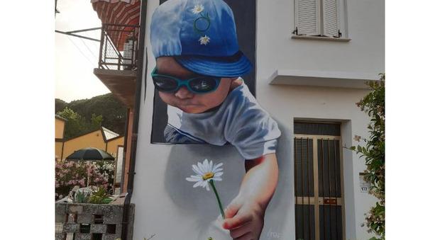 Un bellissimo murales a Porto Viro