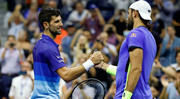 Djokovic-Berrettini, il diavolo serbo è troppo forte per Matteo: vittoria in 4 set ai quarti Us Open