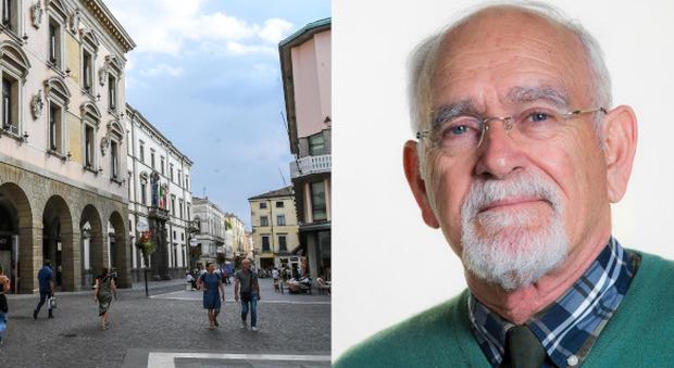 Il Bo e il prof Angelo Babato
