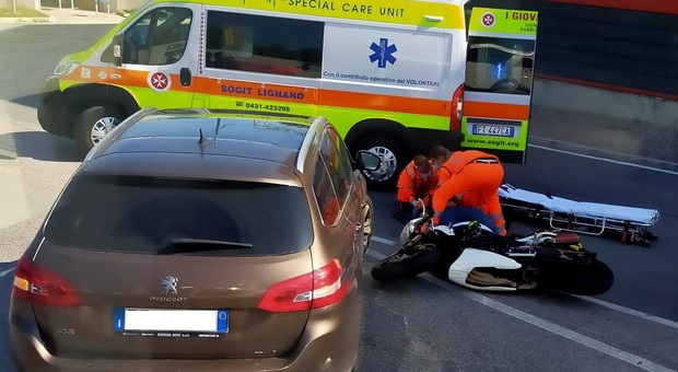L'incidente a Latisana