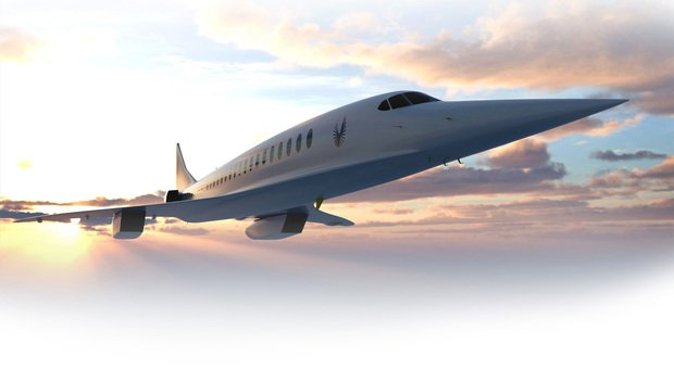 L'Overture della Boom in una simulazione di volo