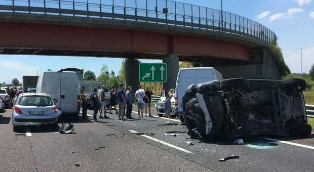 Uno degli incidenti di oggi in A4