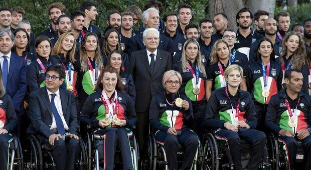 Mattarella riceve gli atleti olimpici e paralimpici: «Avete emozionato gli italiani»