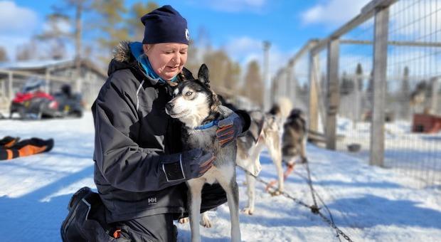 Finlandia, qui abita donna felicità